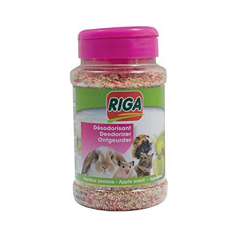 Riga - Ambientador de Manzana para roedor, Bote de 230 g