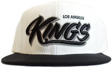 Mister Cartoon LA Kings - Two Tone Script HAT White