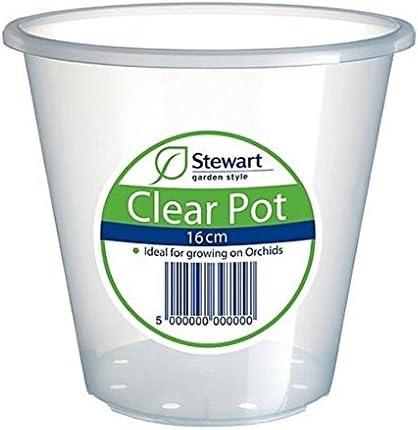 20 x Stewart Saucer For Clear Pots 11-18cm   ***7084