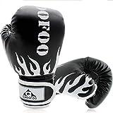 GROOFOO Guantes de Boxeo para Niños 6oz Entrenamiento Combate Guantes de Perforación per MMA Muay Thai Kick...