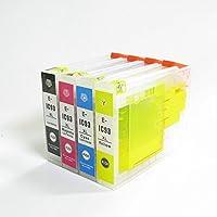 (ZIC4CL93L)ゼクーカラー、エプソンIC4CL93L互換インクカートリッジ(Lサイズ4色)顔料インク