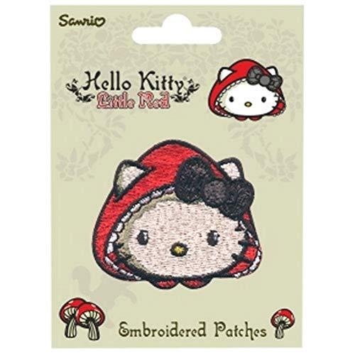 Hello Kitty Little Patch Stickerei in rot