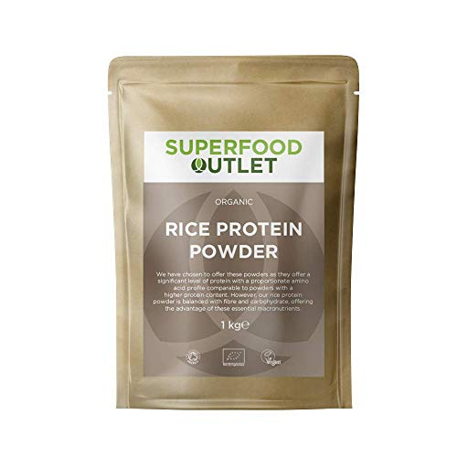 Superfood Outlet Organic Rice Protein Powder 1kg