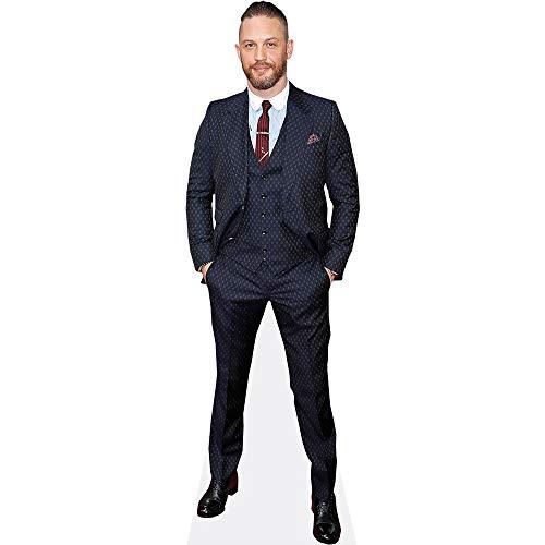 Celebrity Cutouts Tom Hardy (Blue Suit) Pappaufsteller lebensgross