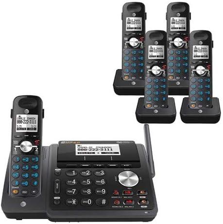 AT&T TL88102BK + (4) TL88002BK 5 Handset Cordless Phone (2 Line) DECT 6.0