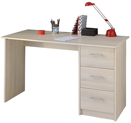 Schreibtisch beige akazie B 121 cm Jugendzimmer Kinderzimmer PC Computertisch Kinderschreibtisch Jugendschreibtisch Bürotisch