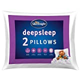 SLEEP DEEPLY: These pillows have been created to help you sleep more deeply throughout the night HYPOALLERGENIC: The pillows are hypoallergenic which means they don't contain any materials likely to cause allergies MACHINE WASHABLE: Fully machine was...