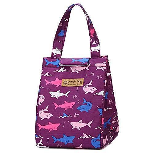 Bolsa más fresca para mujer, bolsas portátiles impermeables para picnic, almacenamiento de viaje, oficina, desayuno, bolsa térmica reutilizable, nuevo-TA12-1-17