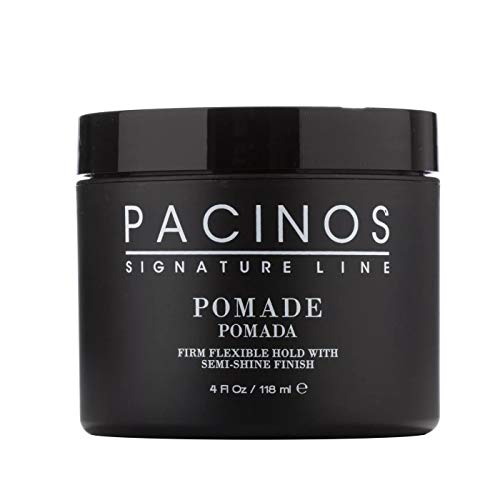 Pacinos Sculpting Pomade, Firm Yet Flexible Hold for Long Lasting Definition and Shine, Perfect for All Hair Types to Create a Natural Looking Hairstyle, Adds Volume and Texture, 4 oz