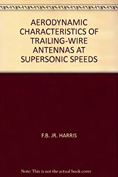 AERODYNAMIC CHARACTERISTICS OF TRAILING-WIRE ANTENNAS AT SUPERSONIC SPEEDS