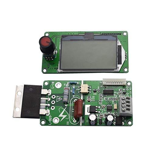 No logo TIN-YAEN 100A LCD-Digital-Doppel Encoder Pulse Transformator Board of Schweißgerät Time Control Modul Spot-Steuermodul Zubehör