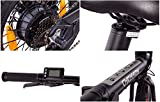 CHRISSON 16 Zoll E-Bike Klapprad ERTOS 16 schwarz - E-Faltrad mit Hinterrad Nabenmotor 250W, 36V, 30 Nm, Pedelec Faltrad für Damen, Herren und Jugendliche, praktisches Elektro Klapprad - 5