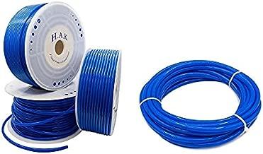 H.A.K. PNEUMATIC Blue Plastic Line Air Hose O.D. 8 mm x I.D. 5.5 mm 10 Meter PU Use Range Air Compressor Hose Automotive Air Tools Tubing Quick Connect Air Hose