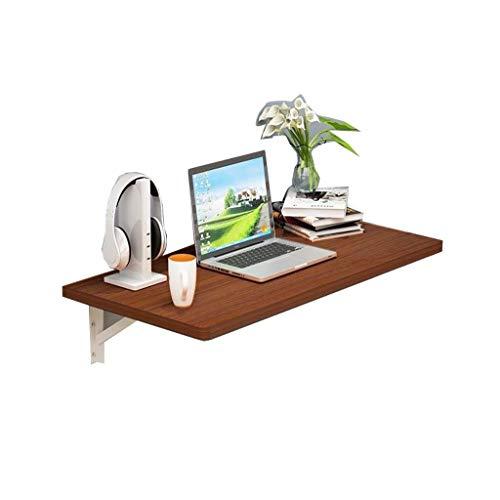 Dyljyf Klaptafel voor muur, computertafel, inklapbaar, draagbaar, voor wand, restaurant, balkon, slaapkamer, werk, eetkamer