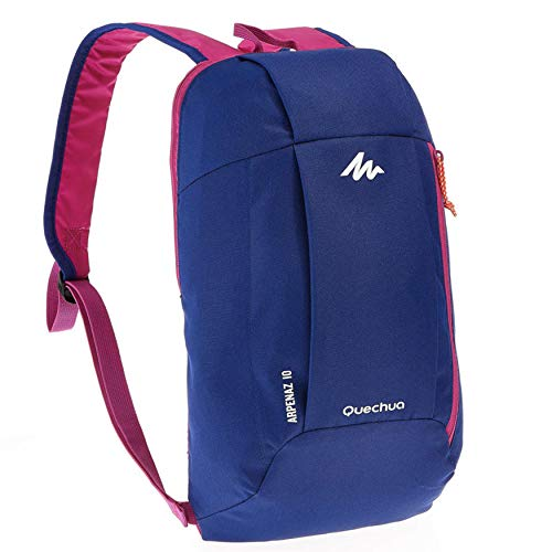 (Blue / Purple) - QUECHUA ARPENAZ 10 Litre HIKING BACKPACK (Blue / Purple)