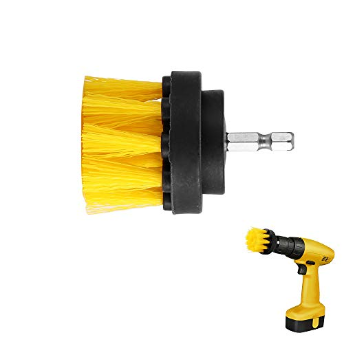 Best Design 2 Inch Drill Power Scrub Clean Brush Wooden Furniture Car Interiors, Polisher Scrub Brush - Power Scrubber, Hoover Carpet Cleaner, Shower Cleaning Brush, Drill Brush, Cleaning Brush Kit