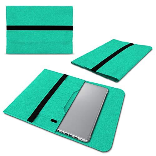 UC-Express Laptop Schutzhülle aus strapazierfähigem Filz mit praktischen Innentaschen Sleeve Hülle Tasche Cover Notebook Hülle Tasche, Farbe:Mint, Notebook:Lenovo ThinkPad Edge 13.3
