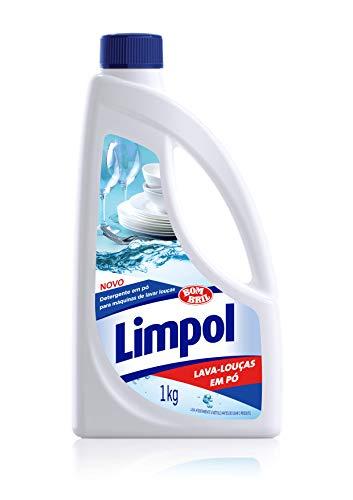 Detergente em Pó Máquina de Lavar Louças 1Kg, Limpol
