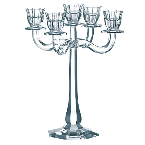 Spiegelau & Nachtmann, Leuchter 5-armig, Kristallglas, Höhe: 30 cm, Ravello, 0067019-0
