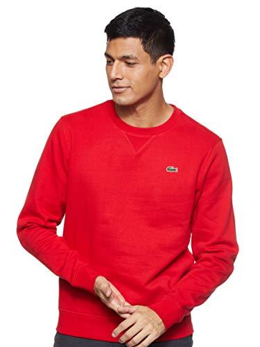Lacoste Sport Herren SH7613 Sweatshirt, Rot (Rot), XL
