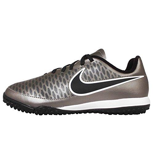 Nike Jr Magista Onda TF, Zapatillas de Deporte Niñas, Plateado/Negro (Mtlc Pewter/Blk-Ghst Grn-White), 28 1/2