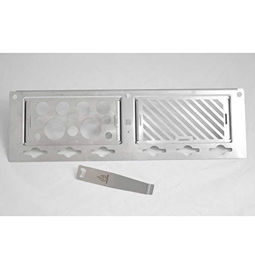 Feuerstelle Modulares Rost System zu Napoleon Gasgrill LEX 485 Warmhalterost Grill Grillen (Basisset)