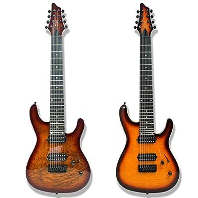 8 String Electric Guitar Bolt_On Maple Neck okoume Wood Body