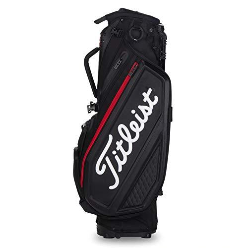 Titleist Premium Stand Golf Bag Black/Black/Red