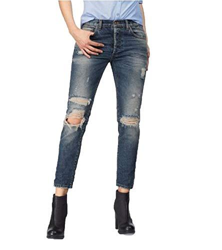 LTB Jeans Damen Sanvi Selvedge Boyfriend Jeans, Blau (Leal Wash 50452), W30