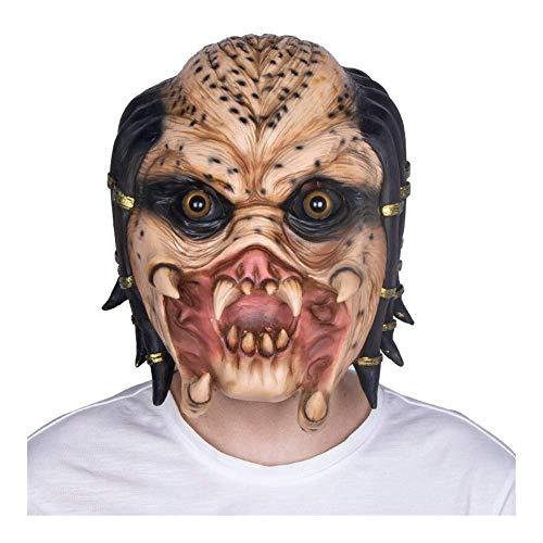 Las mscaras de Halloween son horribles y emociona Dress Up Decoraciones de Halloween, Aliens and Predators Decoracin de Halloween, Mscara de Lobo Decoracin de Halloween de Halloween para el papel