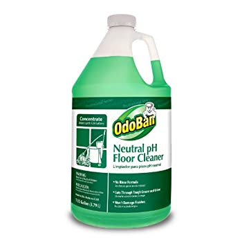 OdoBan 936162-G Neutral pH Floor Cleaner Concentrate 1 Gallon Bottle