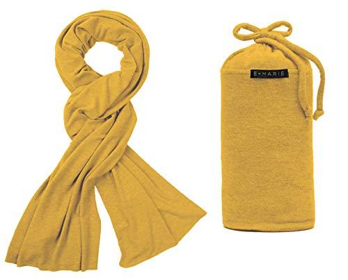 E Marie Travel The Everything Travel Blanket (Goldenrod)