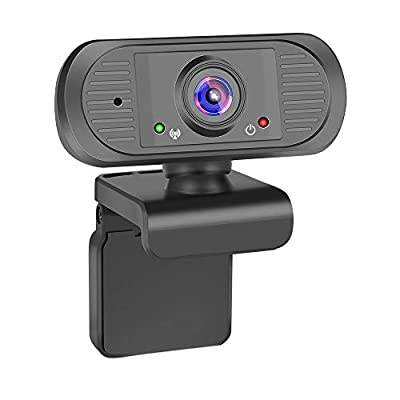 Webcam, ilandFairy Webcam with Microphone 30FPS Webcam 1080p Web Cameras for Computers USB Camera Computer Camera HD Streaming for PC Desktop Laptop (Black)
