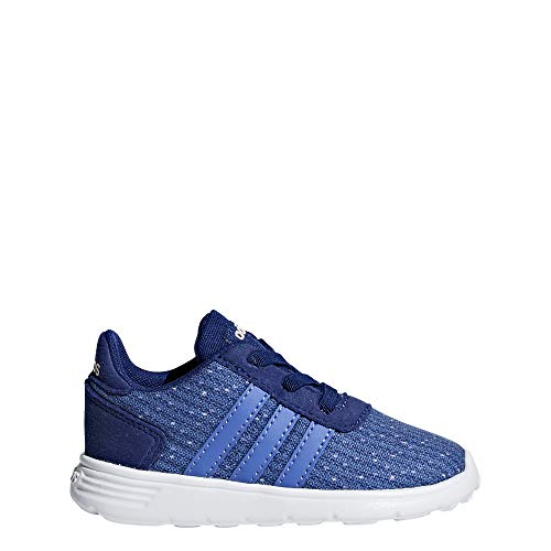 Adidas Lite Racer Inf, Zapatillas de Estar por casa Bebé Unisex, Multicolor (Tinmis/Lilrea/Narcla 000), 20 EU