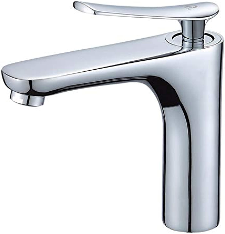 Yuanshuai88-Faucet Wasserhahn Badezimmer über Gegenbecken Kupfer heies und kaltes Waschbecken Badezimmer zu Hause Waschbecken Wasserhahn