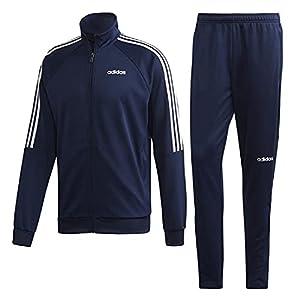 adidas(アディダス) Sereno Track Suit セレーノ トラックスーツ 上下セットジャージ ジャケット×ロングパンツ M(167-173cm) 国内正規品 FN5796 カレッジネイビー