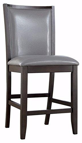 Hot Sale Upholstered Barstool Gray