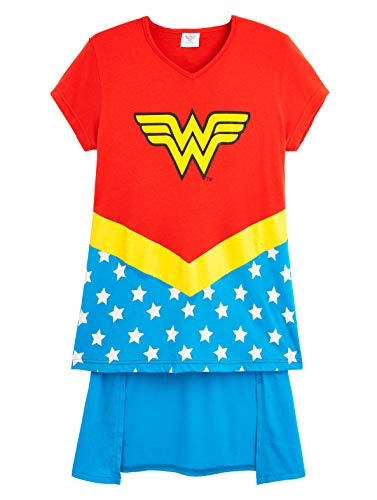 Girl's and Teen's Wonder Woman Costume, DC Comics, Ages 7 to 14 Years