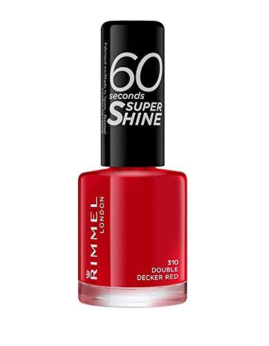 Rimmel London 60 Seconds Super Shine Vernis à ongles, 8 ml