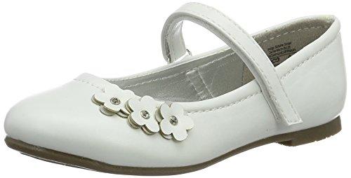 Indigo Mädchen 424 075 Geschlossene Ballerinas, Weiß (White), 35 EU