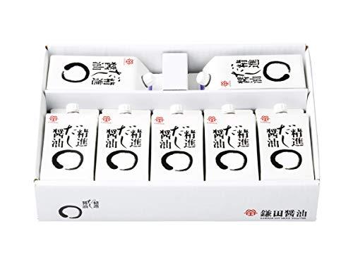鎌田醤油 精進だし醤油 7本入り (塩分8%) 200ml