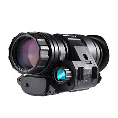 WNTHBJ 3X32 Helm Nachtsichtgerät Kann Alle Schwarz Beobachtungsspiegel Trägt Im Freien, Golf Tragbares Outdoor-Teleskop