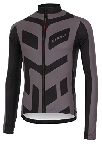 Ghost Radtrikot lang Performance Jersey Long Black/Grey 2017 (XXL)