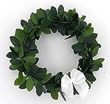 Serviettenring aus Buxbaum 12 er Set, zur Taufe, Kommunion, Konfirmation,Weihnachten Hochzeit, Deko als Geschenk oder nettes Mitbringsel