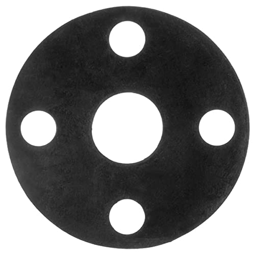 Usa Deluxe Sealing Full Face EPDM Rubber Flange for Pipe 4
