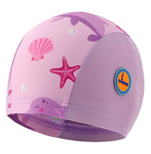 Swimbubs Gorro de baño para bebé Sombrero de Sol para niñas Traje de baño UV...