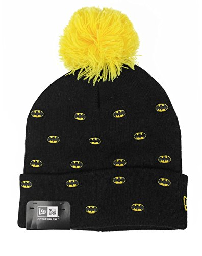 Bonnet New Era – Batman OTC Caractère Spotted Noir Taille: OSFA (One Size Fits All Sexes)