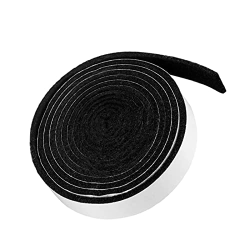 BBQ Gasket Tape BBQ Smoke Seal Strip,Smoker Grill Tape High Temp Grill Seal Self Stick Leak Proof Smoker Gasket,Oven Door Sealing Strip Heat Resistant Grill Gasket Smoke Keeping Strip(8.2ft,1/2'')