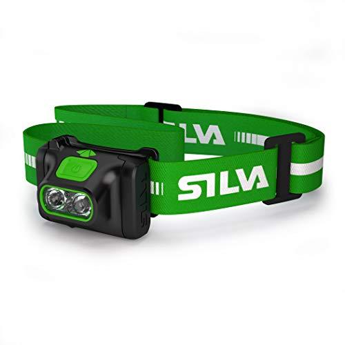 Silva 7318860198731 Headlampen, Mehrfarbig, Einheitsgröße, Unisex-Erwachsene, Grün
