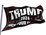 Trump 2024 flag,fuck your feelings,Donald Trump flag 2024 merchandise,Decoration american flags For Room,3x5 Ft outdoor double sided